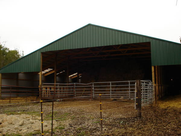 Re New Hay Feeding Barn